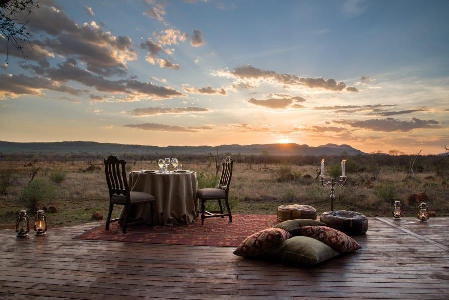 Madikwe Hills Private Dinner