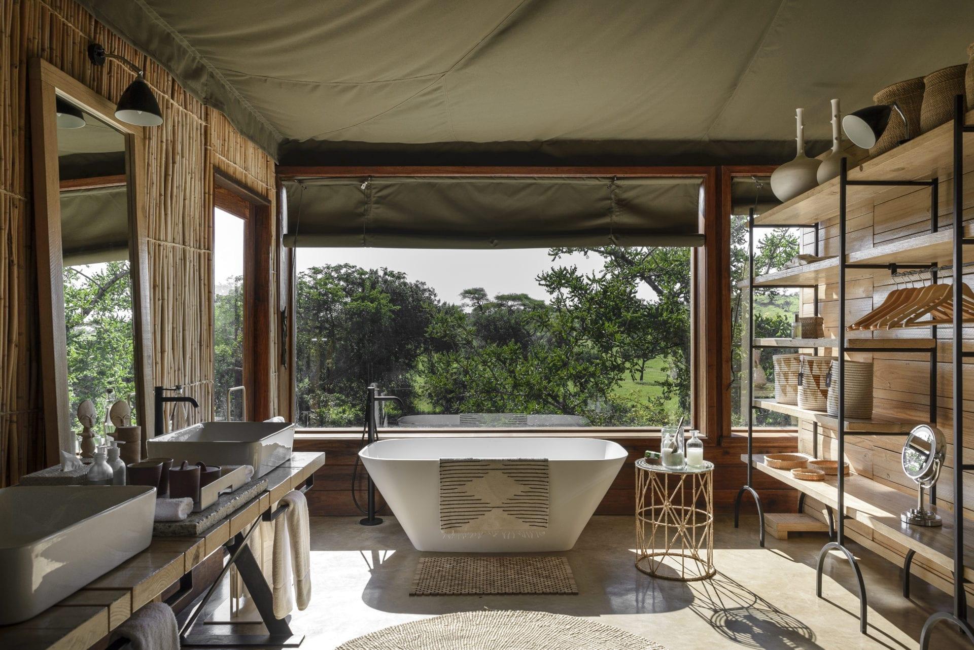 Singita Faru Faru Lodge Suite Bathroom