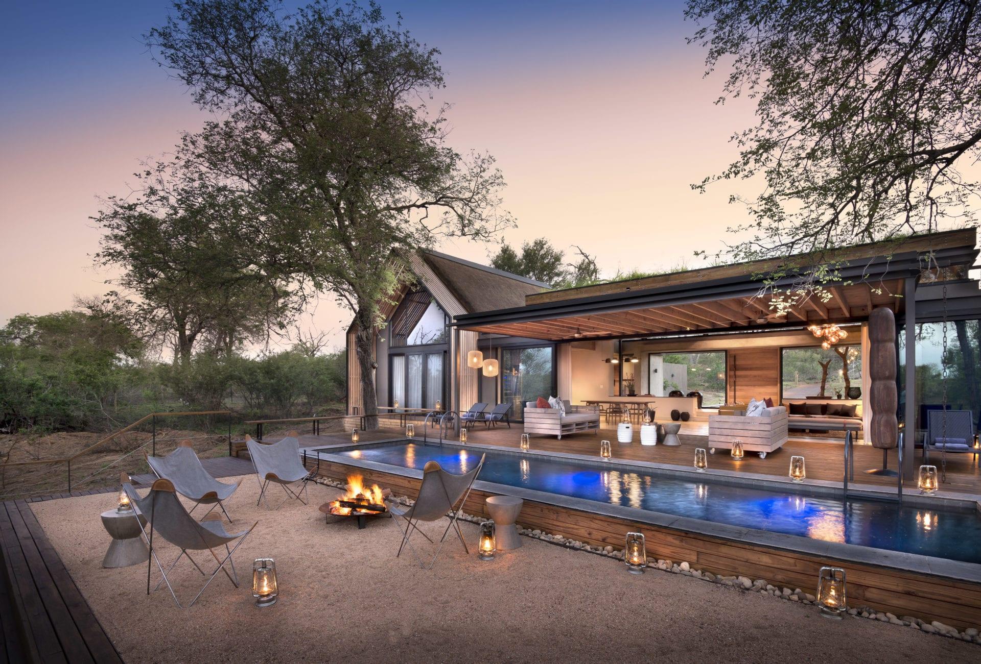Lion Sands Ivory Lodge 3 Fish Eagle Villa Exterior View 1